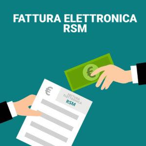 fattura elettronica rsm